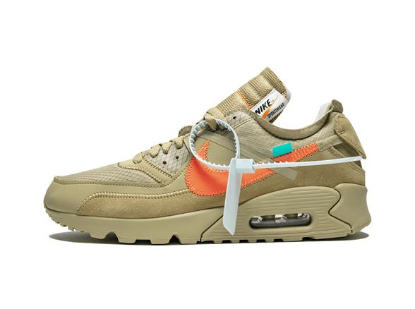 competitive price 668cf 8637c Nike Off-White Air Max 90 Desert Ore