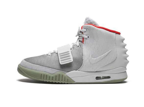 9fae5e1f3 Nike Air Yeezy 2 Platinum