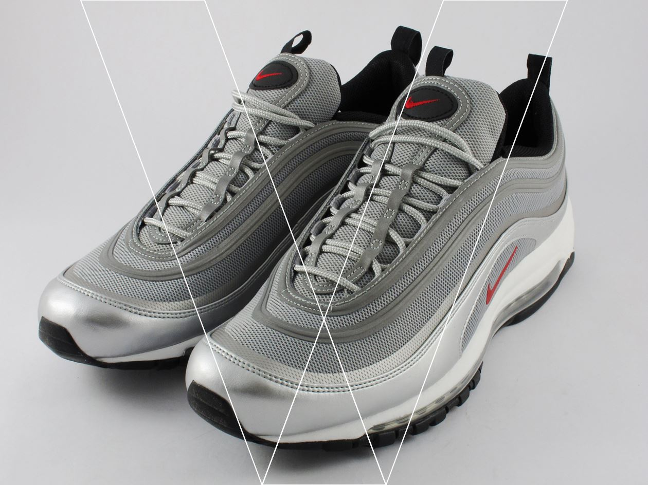 84e51fd90eb How to spot fake Nike Air Max 97 PREM Tape in 18 steps