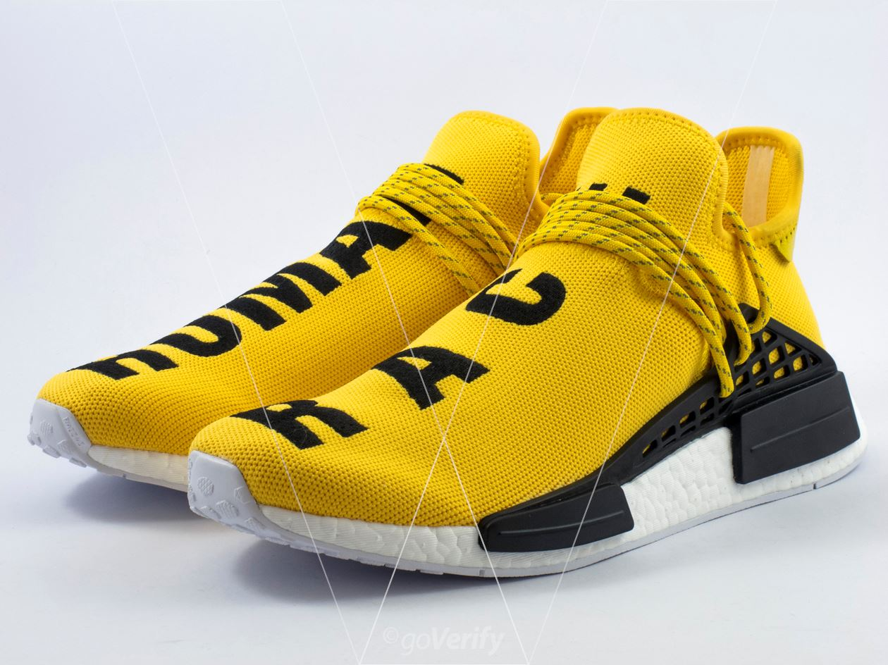 c31e07740ef14 How to spot fake Adidas NMD PW Human Race in 29 steps