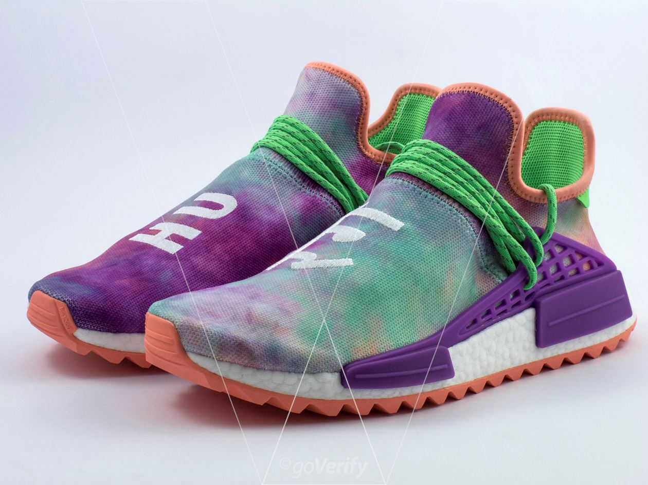 2b7547b4e How to spot fake Adidas NMD PW Hu Holi Chalk Coral in 32 steps