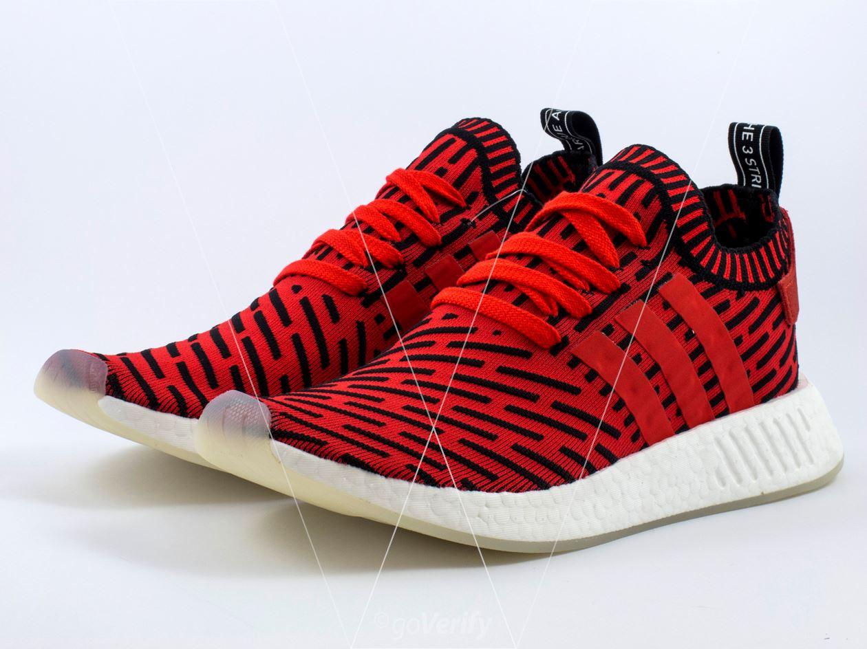 13cc7eabf How to spot fake Adidas NMD R2 PK in 30 steps