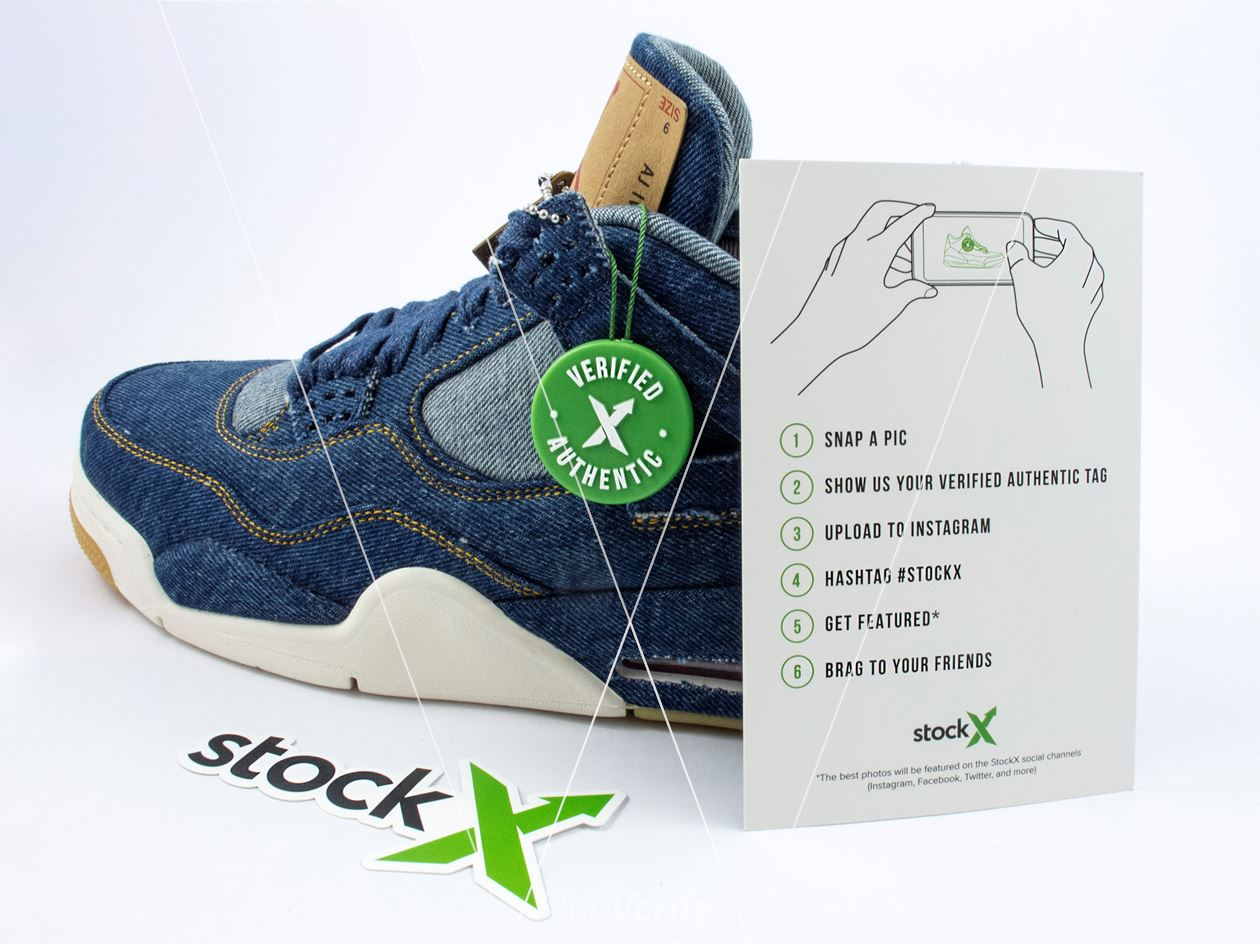 How to spot fake StockX 2018 Tag in 10 steps