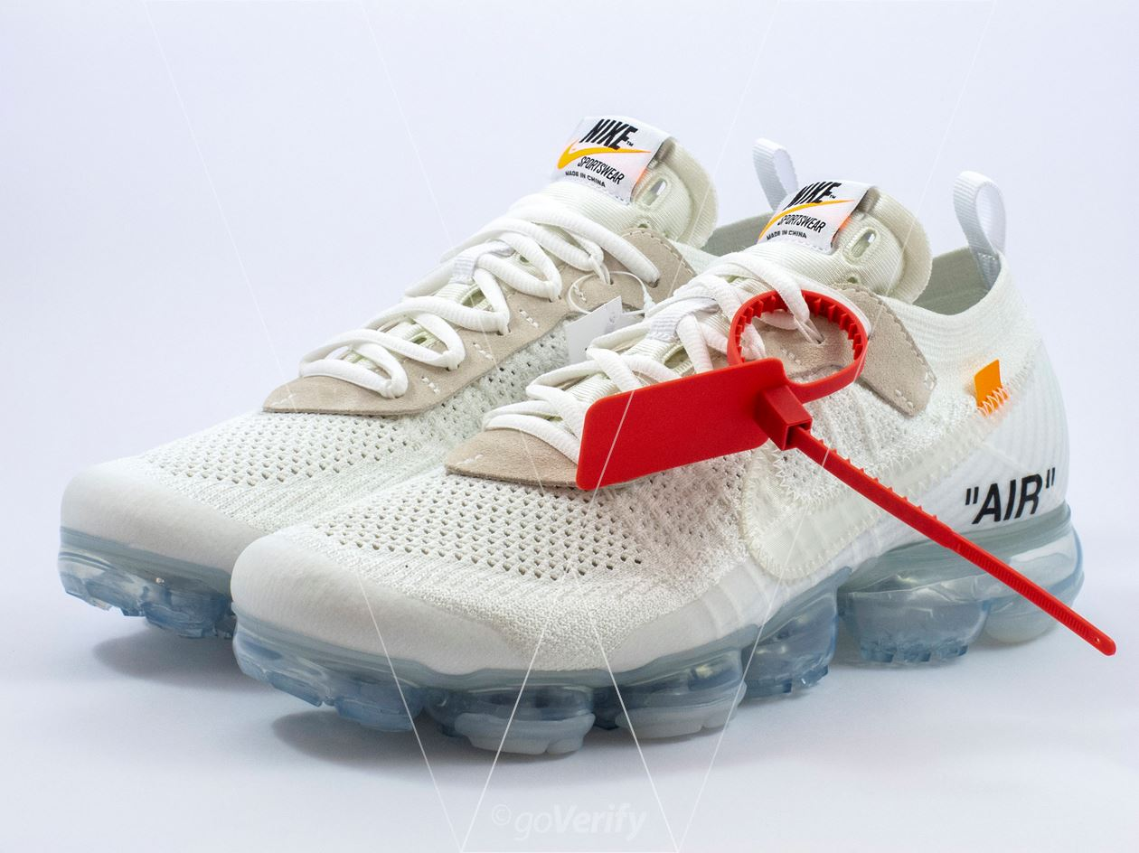 aa2ded289c5f8 How to spot fake Nike Off-White Air Vapormax FK White in 37 steps