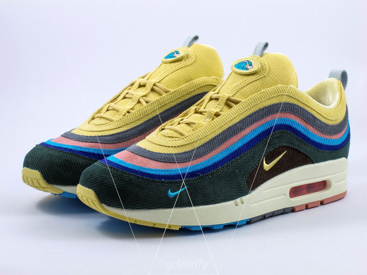 0dcf19b4d25504 How to spot fake Nike Air Max 1 97 Sean Wotherspoon in 35 steps