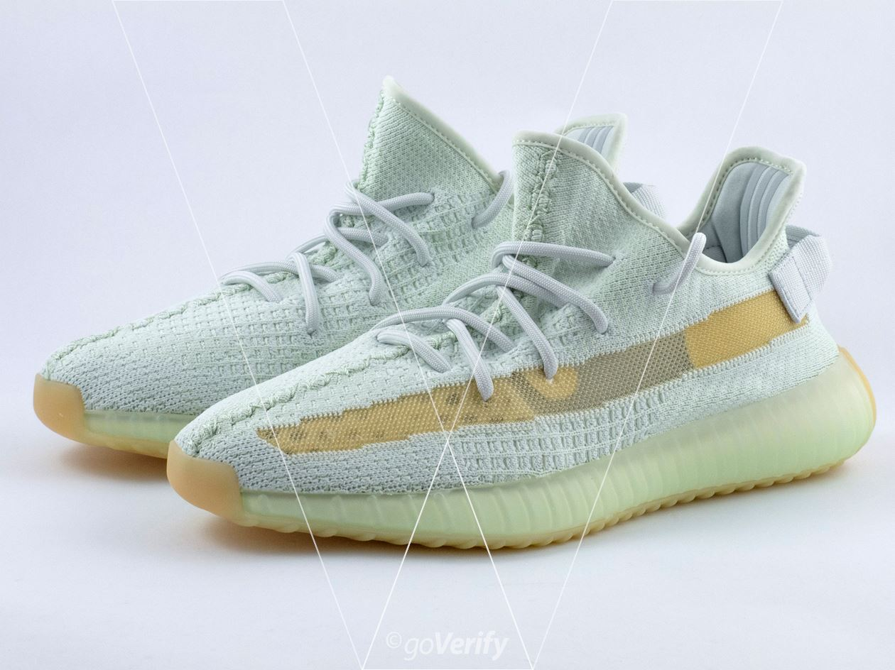 2e3c6f17972 How to spot fake Adidas Yeezy Boost 350 V2 Hyperspace in 37 steps