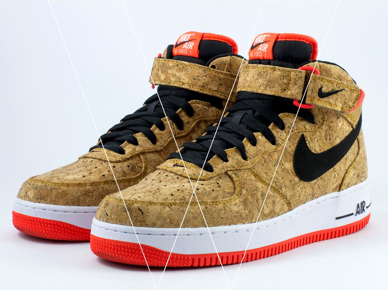 How To Spot Fake Nike Air Force 1 07 Mid Cork In 30 Steps