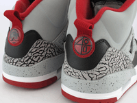 best service bfb0d 4bf3f Nike Air Jordan Spizike s have a small lace lock toggle with spring loaded  locking mechanism, check that the quality of the plastic is good with no  rough ...