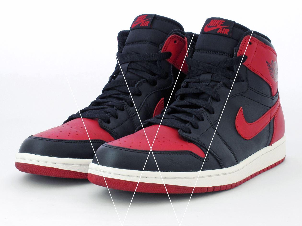 68360f18303e45 How to spot fake Nike Air Jordan 1 Retro High in 19 steps