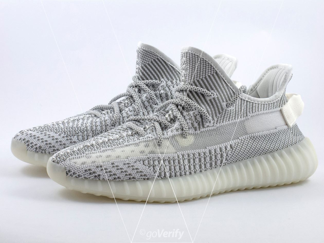 e76aefba7eabe How to spot fake Adidas Yeezy Boost 350 V2 Static in 38 steps