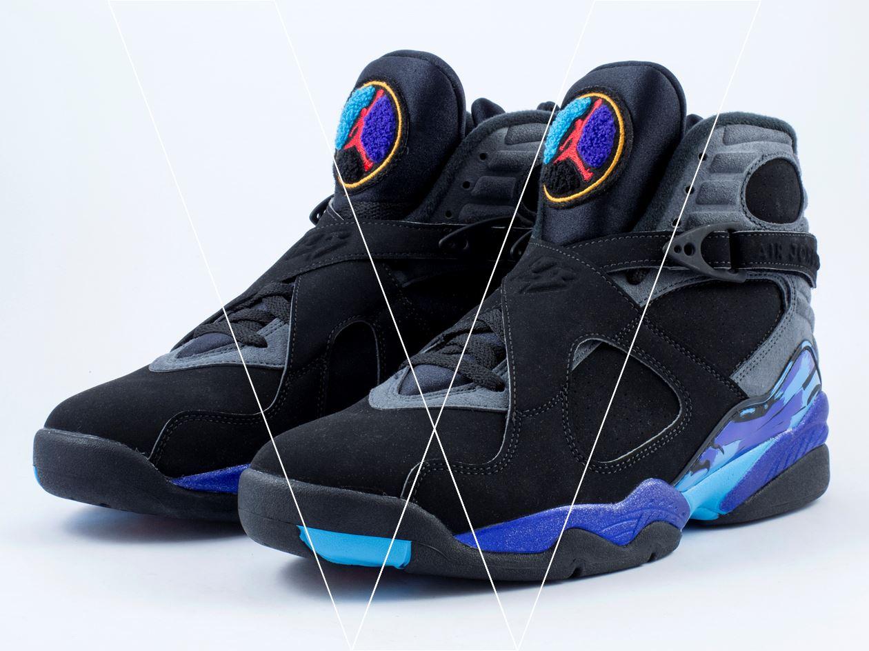 How to spot fake Nike Air Jordan 8 Retro in 27 steps 43f081dfc1f7