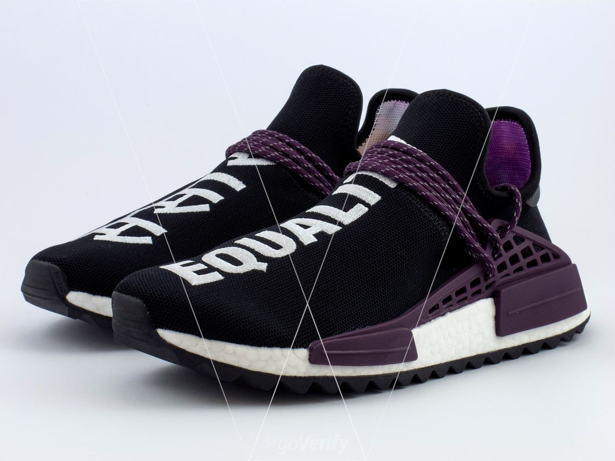 fb0968dd4a5 How to spot fake Adidas NMD PW Hu Holi Core Black in 31 steps