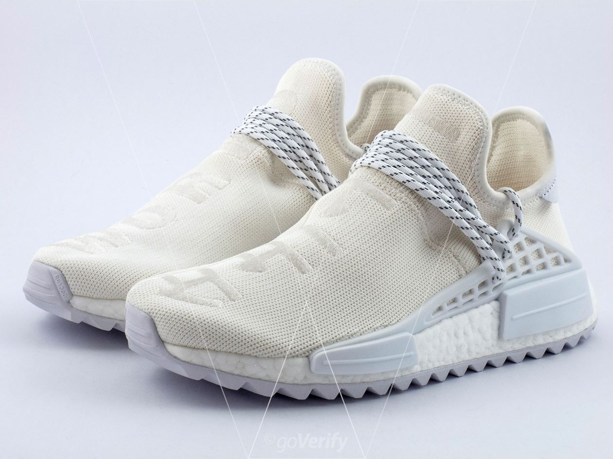 ed8108ba7 How to spot fake Adidas NMD PW Hu Holi Blank Canvas in 31 steps