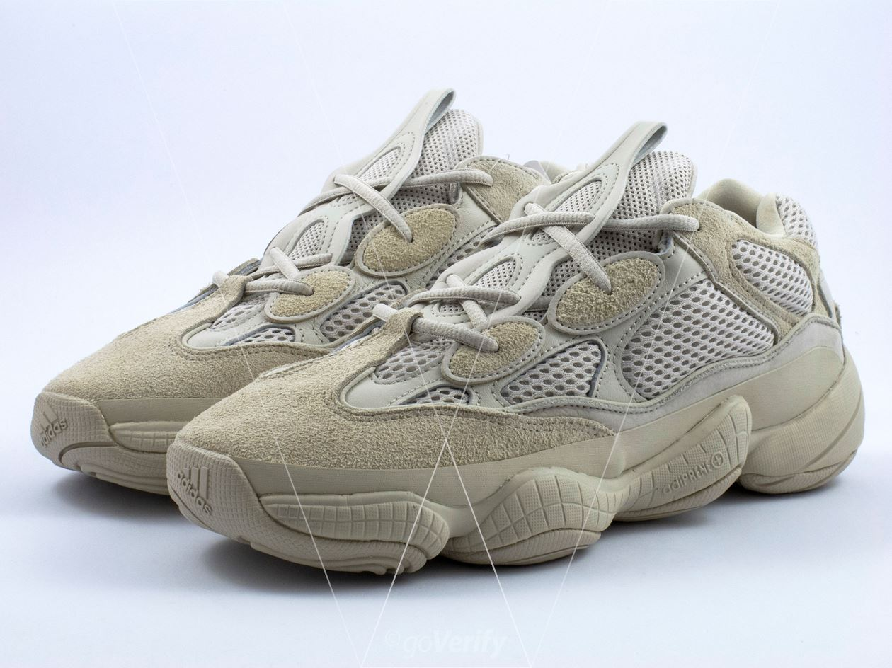 low priced 8fd04 726a7 How to spot fake Adidas Yeezy 500 Desert Rat Blush in 36 steps