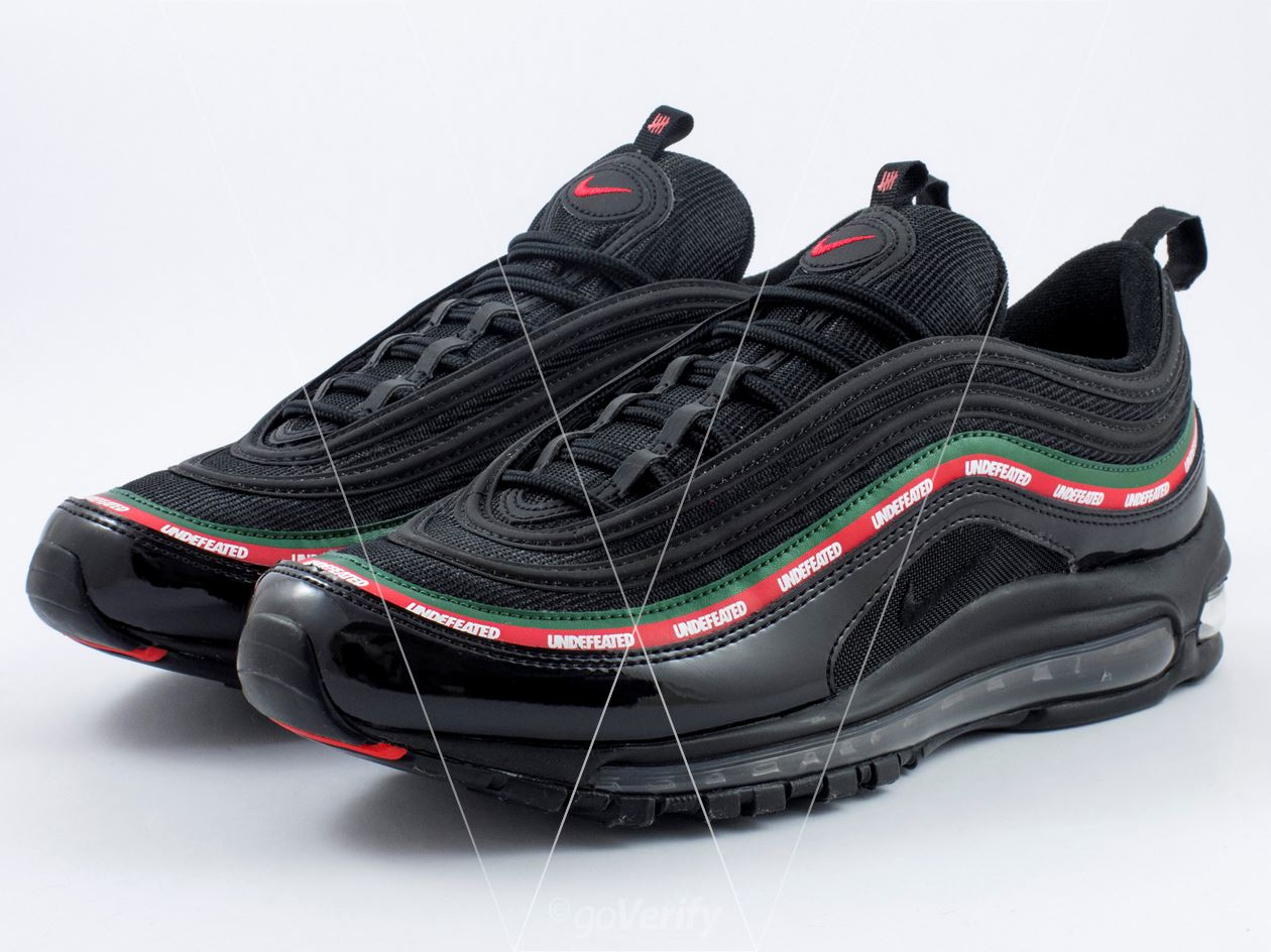 brand new 5195b d5f45 How to spot fake Nike Air Max 97 Undefeated in 29 steps