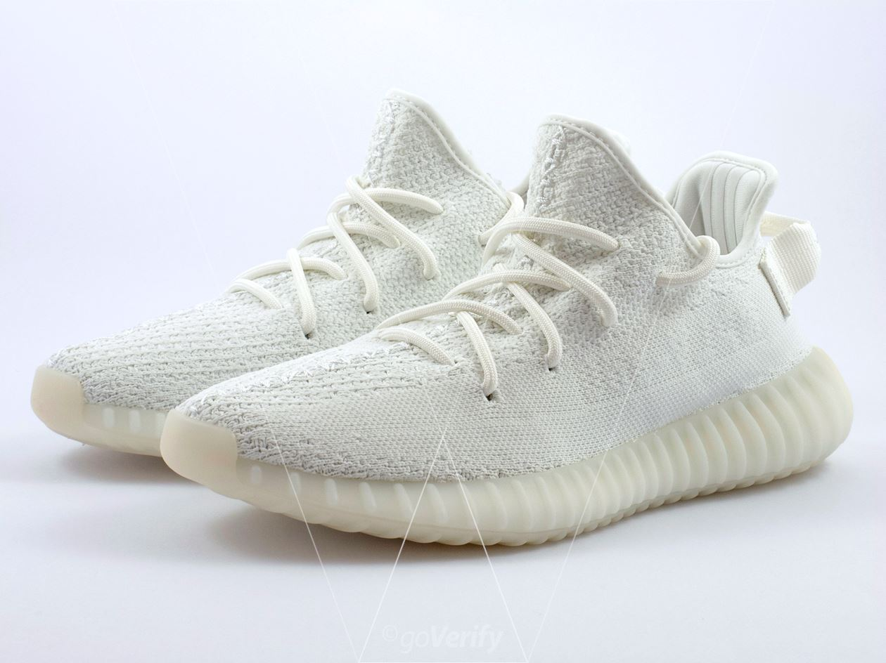 0e36fc824 How to spot fake Adidas Yeezy Boost 350 V2 Cream White in 33 steps