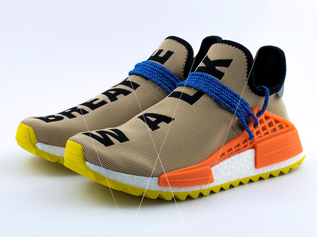 purchase cheap 704c7 43a7d How to spot fake Adidas NMD PW Hu TR Pale Nude in 29 steps