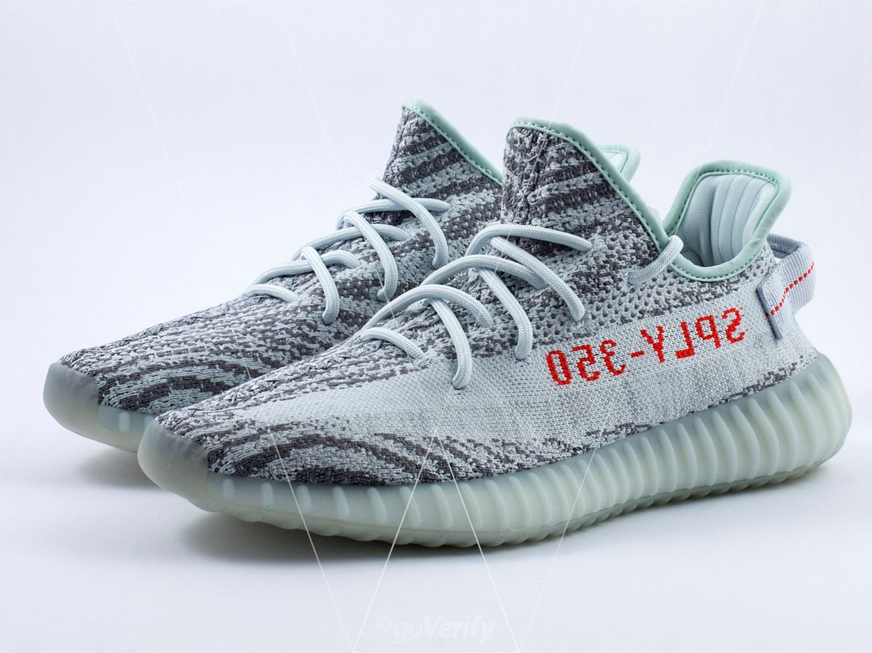 ac8920f8ab370 How to spot fake Adidas Yeezy Boost 350 V2 Blue Tint in 39 steps