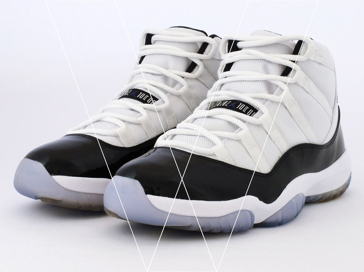 buy online 7adae 22c21 How to spot fake Nike Air Jordan 11 Concord in 30 steps