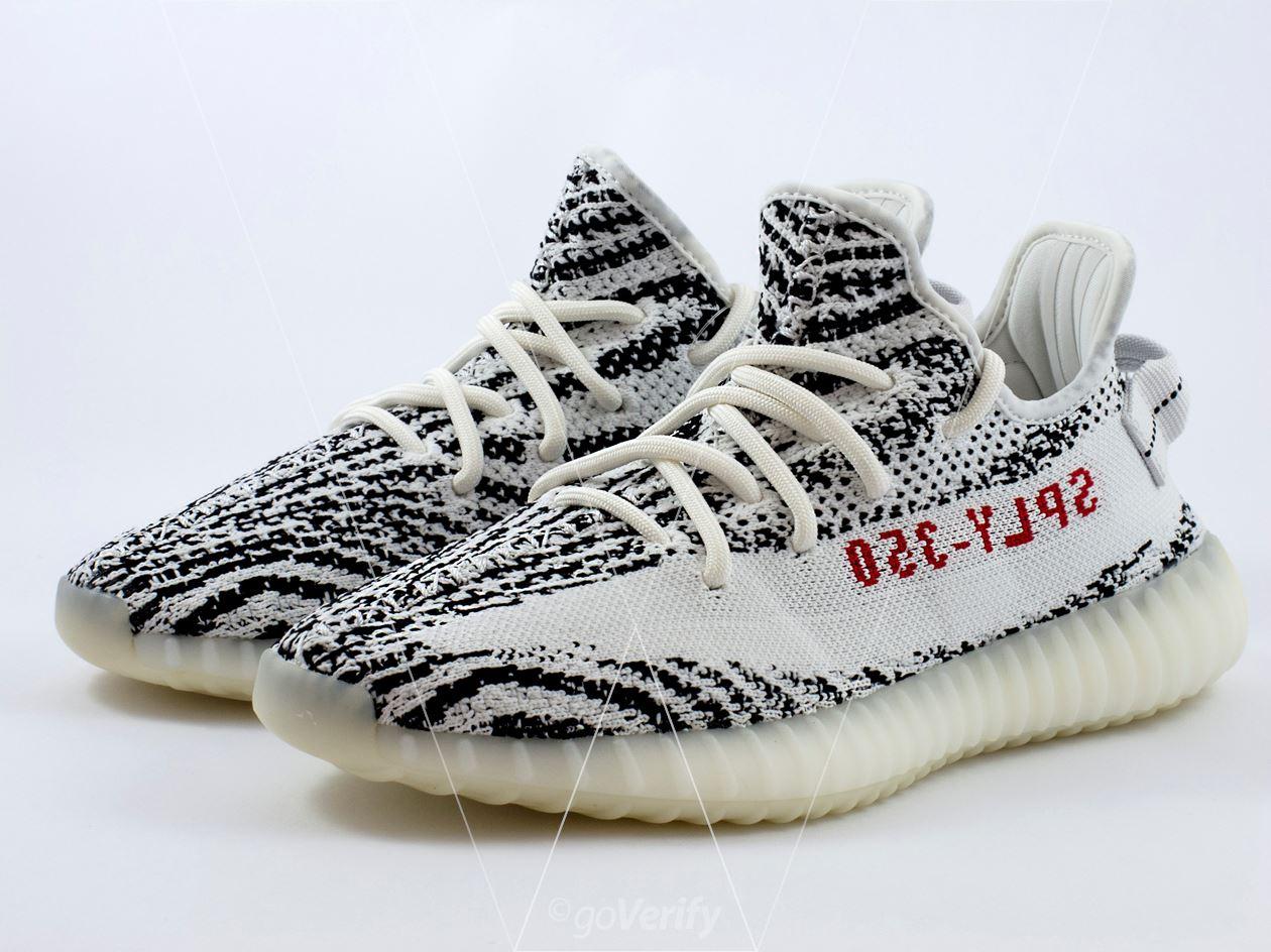 Come posto falso adidas yeezy impulso 350 v2 zebra in 33 passi
