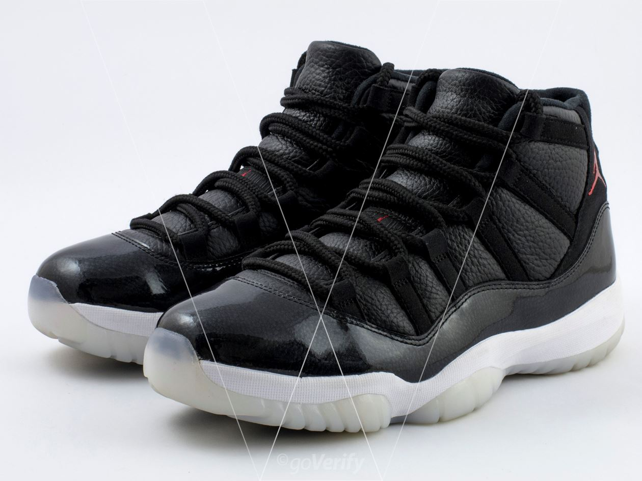 c91585ffb0f How to spot fake Nike Air Jordan 11 72-10 in 32 steps
